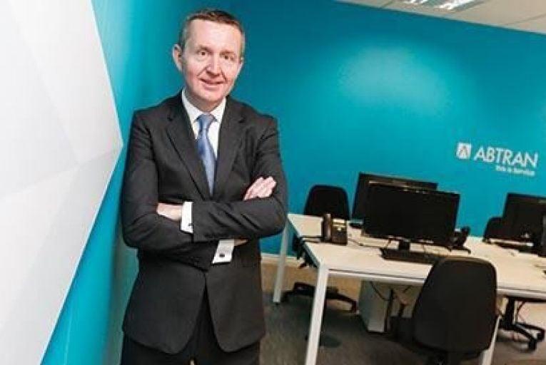 Michael Fitzgerald, chief executive, Abtran Conor Mccabe