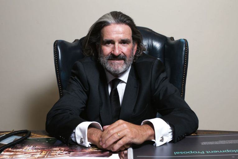 Johnny Ronan: the property developer has ambitious plans for Dublin before he moves onto London Picture: Tony Gavin