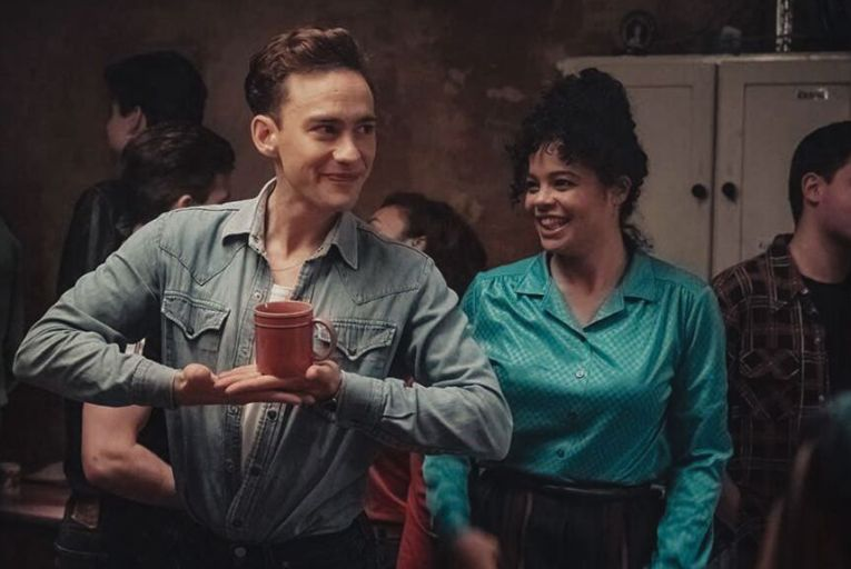 Olly Alexander and Lydia West in It's A Sin, a visceral and moving drama about the onset of HIV/Aids in the London gay community