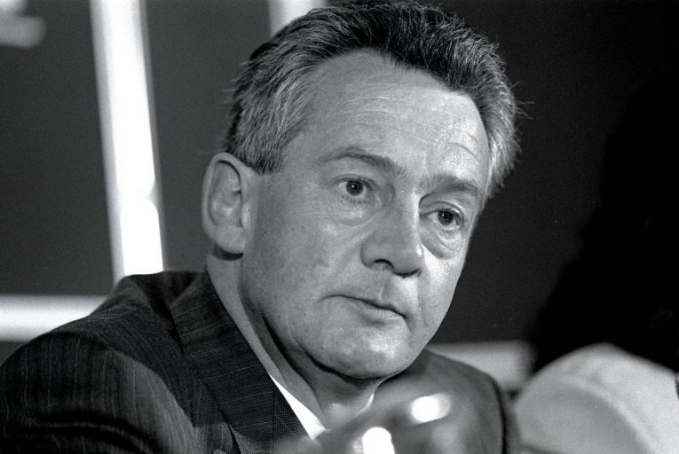 Des O'Malley: the politician's blunt, no-nonsense style was one of the characteristics for which many of his fellow politicians remembered him. Picture: Derek Speirs