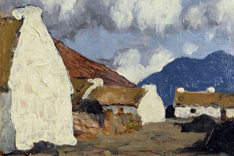 A Western Village by Paul Henry has the conservative estimate of €25,000-€35,000