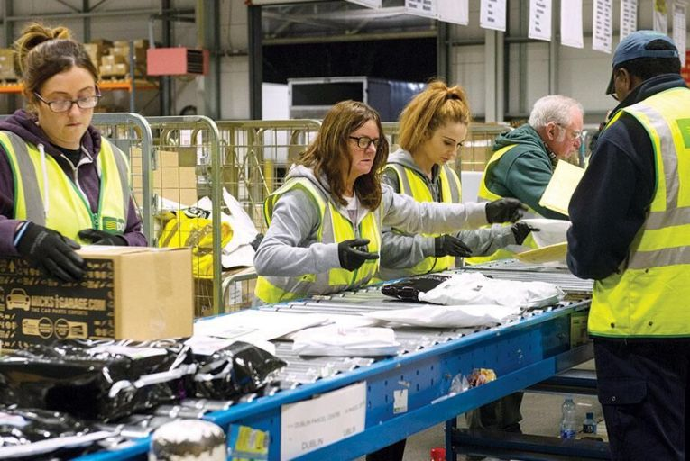Boost for delivery firms as online shopping surges
