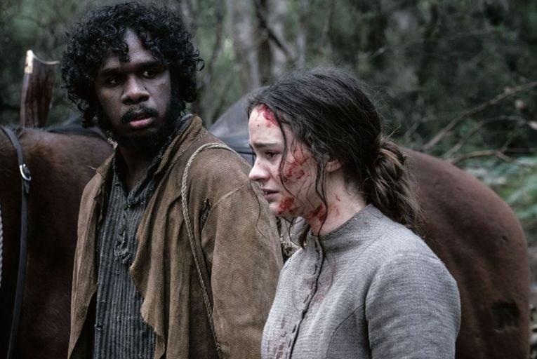 Aisling Franciosi on fire in harrowing drama The Nightingale
