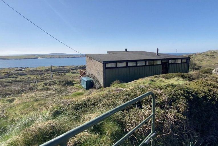 The Box overlooking Dog's Bay in Roundstone, Co Galway sold for almost double its guide price at auction