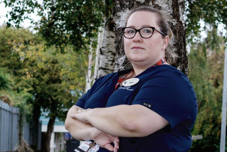 Moira Wynne: 'It's very difficult to listen to the government now – because during the pandemic, when things were really difficult in work, not just for me but across the country, we were the best thing, and all the rest.' Picture: Gareth Craig