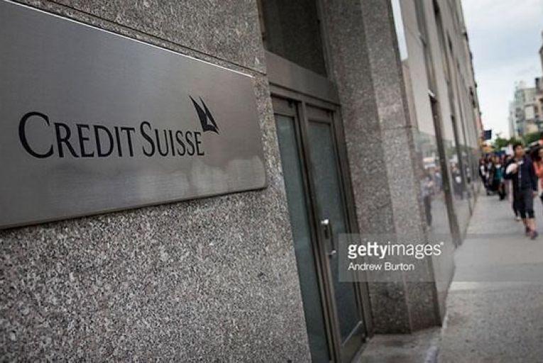 Credit Suisse in Zurich Pic: Getty