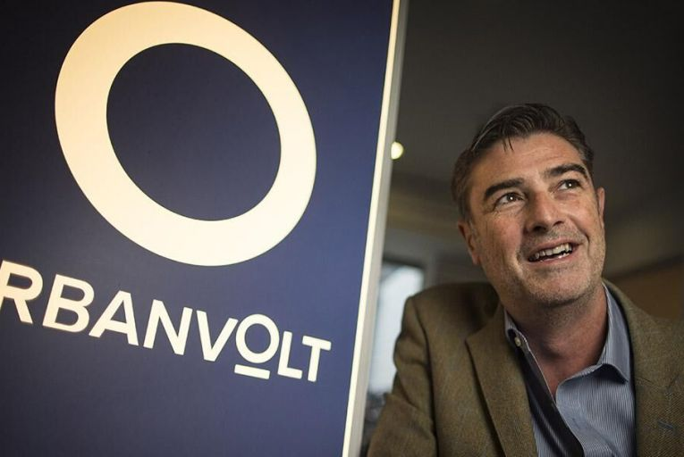 Kevin Maughan, chief executive of UrbanVolt