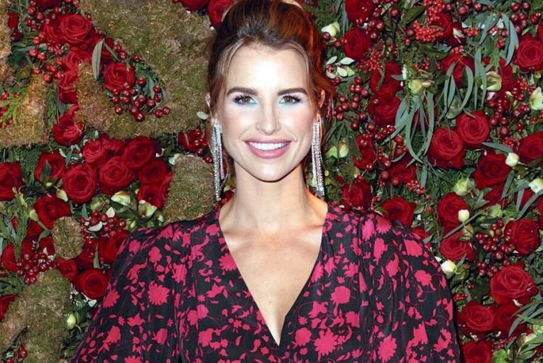 Vogue Williams is  fronting a new fake tan  range, Bare by Vogue Picture: Getty
