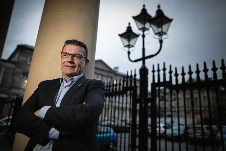 Alan Kelly, the leader of the Labour Party, has failed to lift his party's support above 3 per cent in a series of opinion polls since taking over the job in April. Credit: Fergal Philips