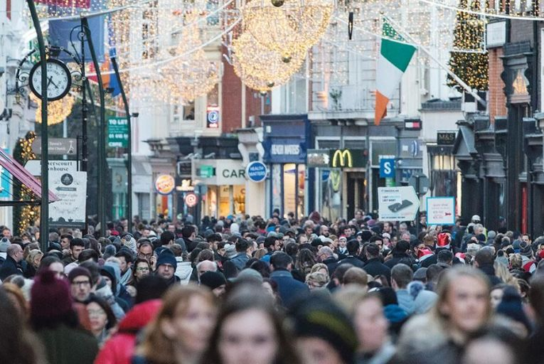 Christmas shopping season  is in full swing – but many  are still feeling the squeeze Picture: Fergal Phillips