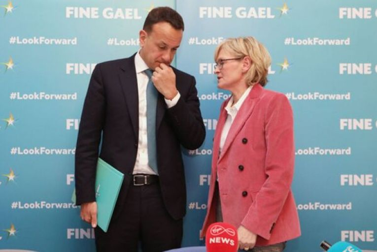 Mairéad McGuiness, pictured with Leo Varadkar, is one of the capable female candidates who could be nominated, as the President of the Eu Commission has requested. Picture: Sasko Lazarov/RollingNews.ie