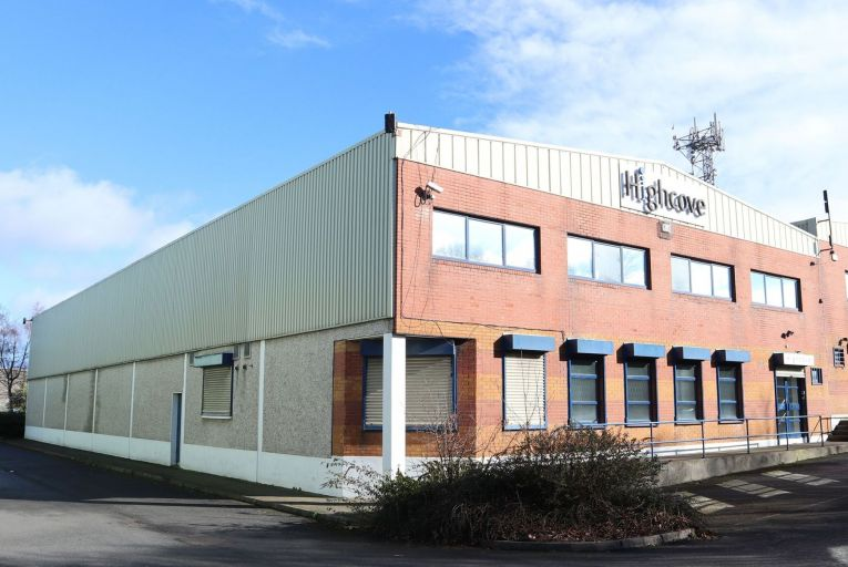 Industrial space on offer in Dublin 12 for €900,000