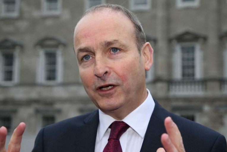 "Micheál Martin said that the purpose of institutional investors was to ""add supply, not to displace supply"" and that government had to distinguish between ""good capital and bad capital"". Picture: Rollingnews.ie"