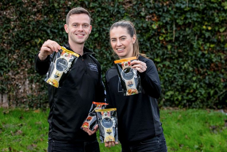 Luke Judge and Evelyn Garland launched Simply Fit Food in Drogheda in 2016