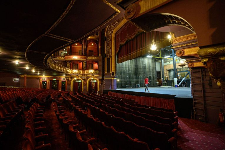 Theatres will be forced to find creative ways to reopen