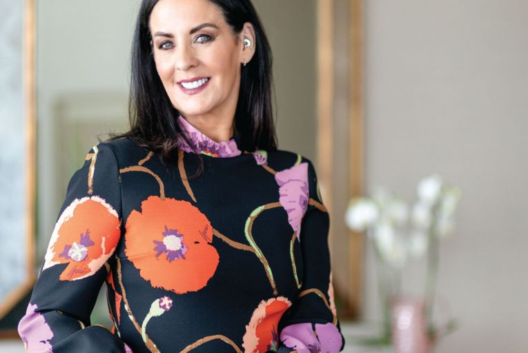 Shelly Corkery, fashion buying director for Brown Thomas, photographed for Irish Tatler by Nathalie Márquez Courtney