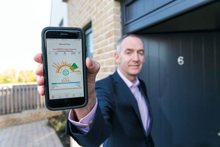 Pinergy launches home energy monitoring app