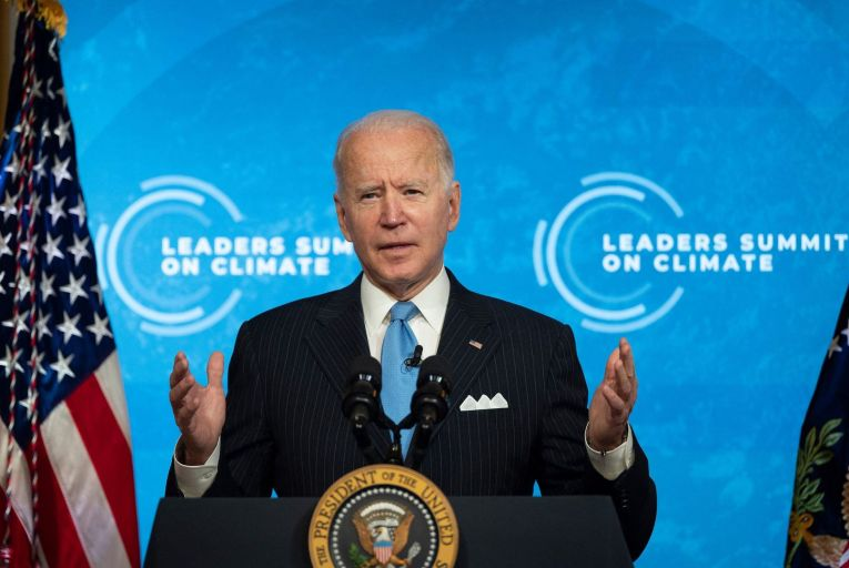US president Joe Biden: has a tricky tightrope to walk in pursuing his climate goals . Picture: Getty