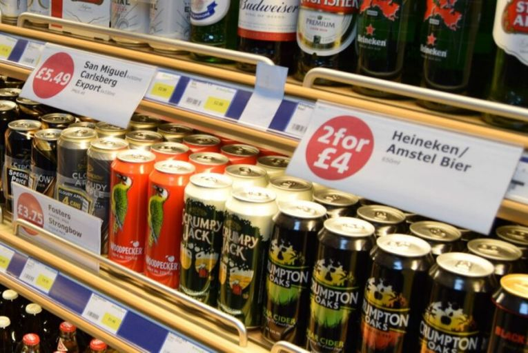"""Leo Varadkar has written to Edwin Poots, the new DUP leader to ask him """"respectfully"""" to consider again the timing of the introduction of minimum unit pricing in Northern Ireland."""