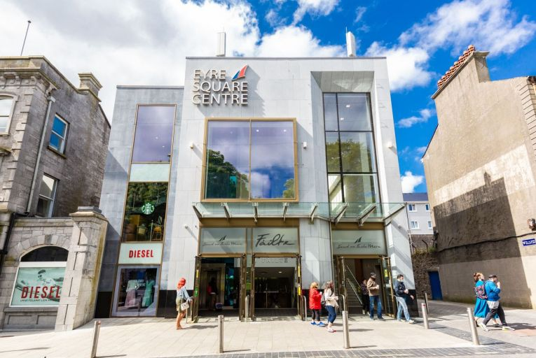 Eyre Square in Galway city centre is on the market guiding €12.75 million with Colliers Ireland