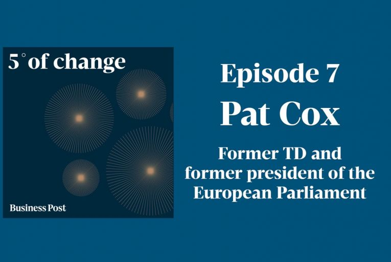 Podcast: Five Degrees of Change - Pat Cox