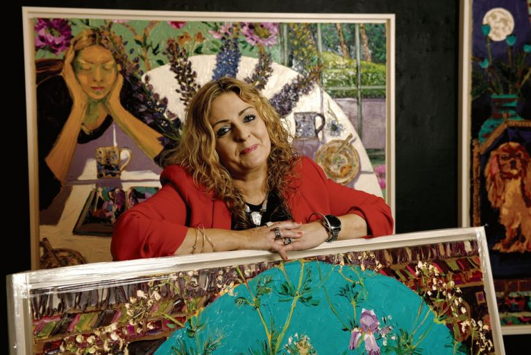 Denise Donnelly, owner of the Doorway Gallery: 'I wanted to change the way galleries are perceived.' Picture: Bryan Meade
