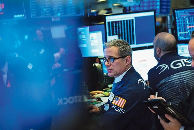 A significant share price fall may occur when a company loses its  place at the bottom of  the valuation ladder Picture: Getty