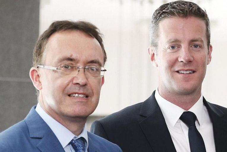 Paul Mee and Austin Sammon of Mazars GalwayJason Clarke