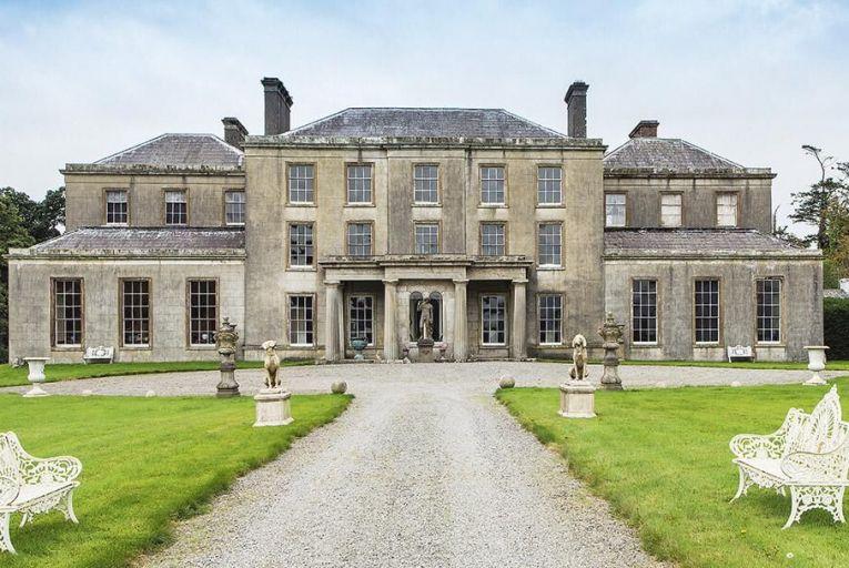 Kilfane House in  Co Kilkenny,  a Georgian house  built in 1798