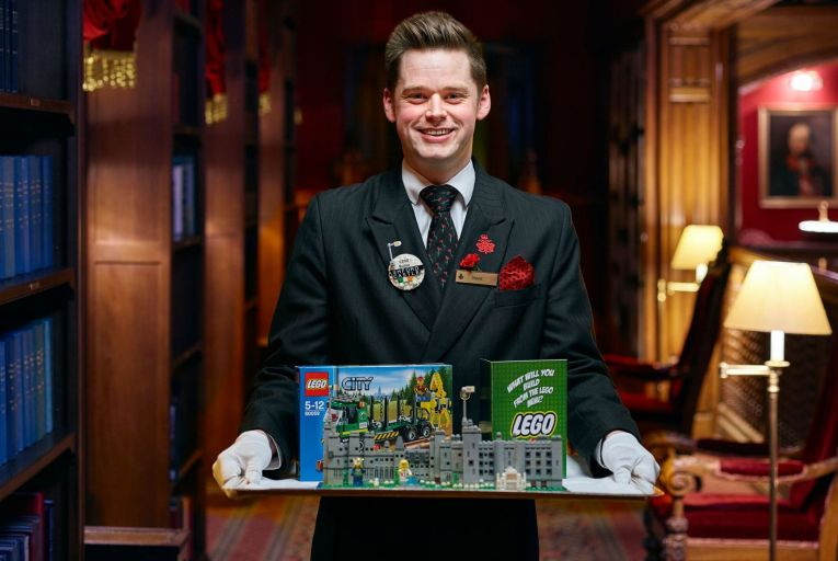 The Lego Butler service at Ashford Castle, Cong, Co Mayo
