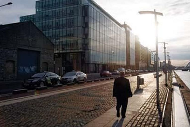 There are 1,275 companies registered as being in the building at 70 Sir John Rogerson's Quay in Dublin 2