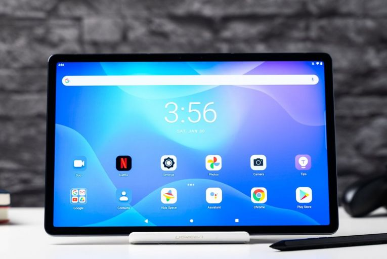 The Lenovo Tab P11 Pro: The sound quality and long-lasting battery were particularly impressive on this tablet, as were its laptop abilities.