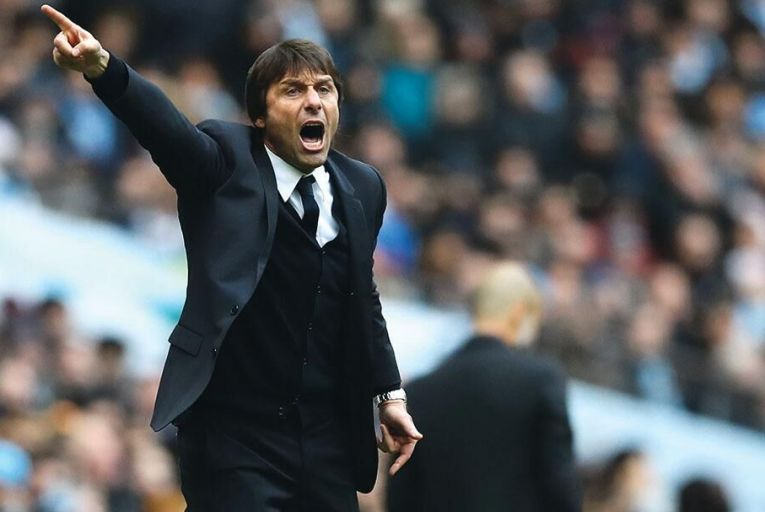 Antonio Conte, manager of Chelsea:  his team is the only one of the major  Premier League clubs whose television  viewership has risen this season Picture: Getty