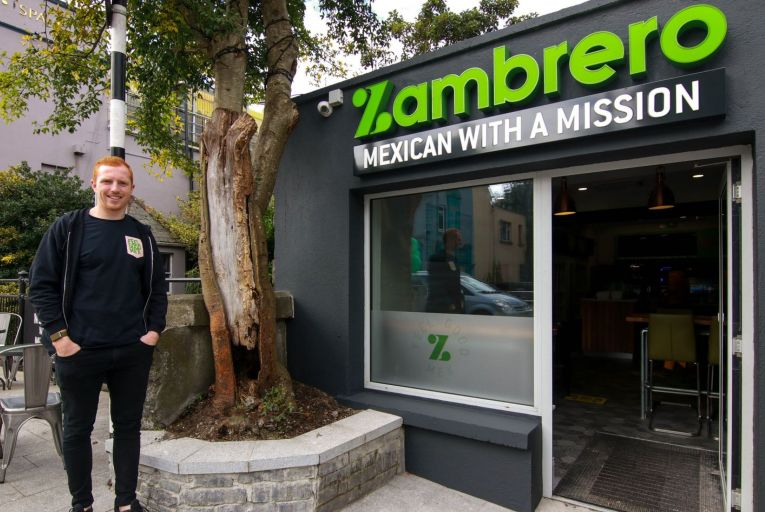 Darragh Fanning, master franchise holder Zambrebo Ireland: 'Irish people are really aware of what we eat. We are actually very health-conscious'