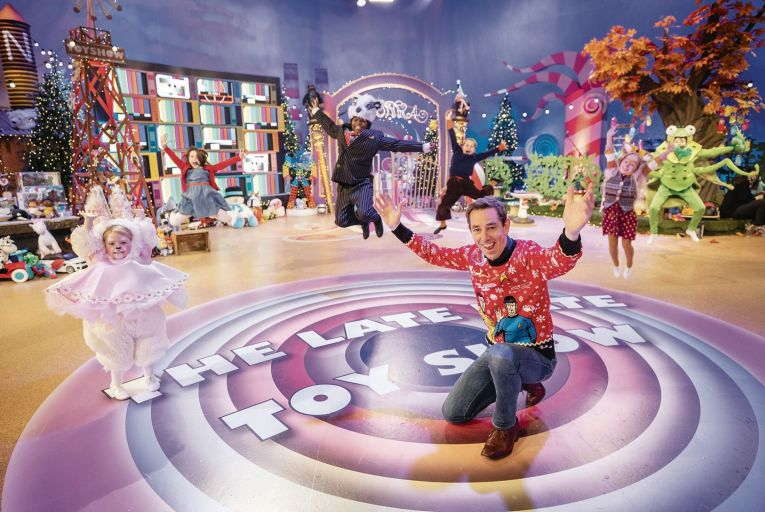 Some 2.4 million tuned in to The Late Late Toy Show at some point – the equivalent of almost half the country\'s population. Picture: Andres Poveda