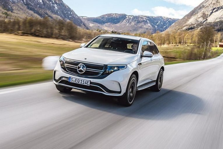 The Mercedes-Benz EQC 400  4Matic: a stylish appearance  and impressive power