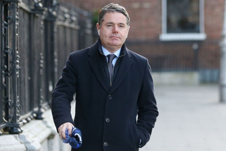 """Paschal Donohoe was informed, the department said the cut was due to the """"Commission's latest economic forecast which indicates that our economy will not contract as much as expected in the period 2021-22"""