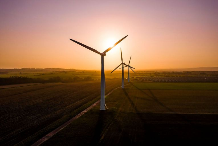 Renewable energy sources such as wind farms will play an important role in Ireland meeting its climate goals