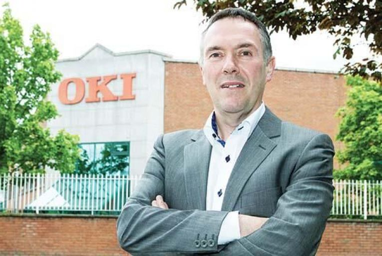 Martin Deignan, country manager, OKI Ireland: 'Document management is a natural bedfellow of managed print services'