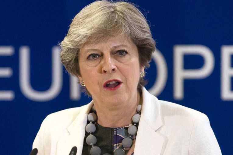 Theresa May has vowed to press on with Brexit – even if it hurts her country's economy