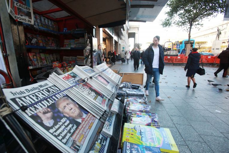 Accounts for DMG Media Ireland, which operates the Daily Mail brands in Ireland, show the newspaper group recorded a 41 per cent fall in pre-tax profits to just over €1.3 million for its 2020 financial year. Picture: Rollingnews.ie