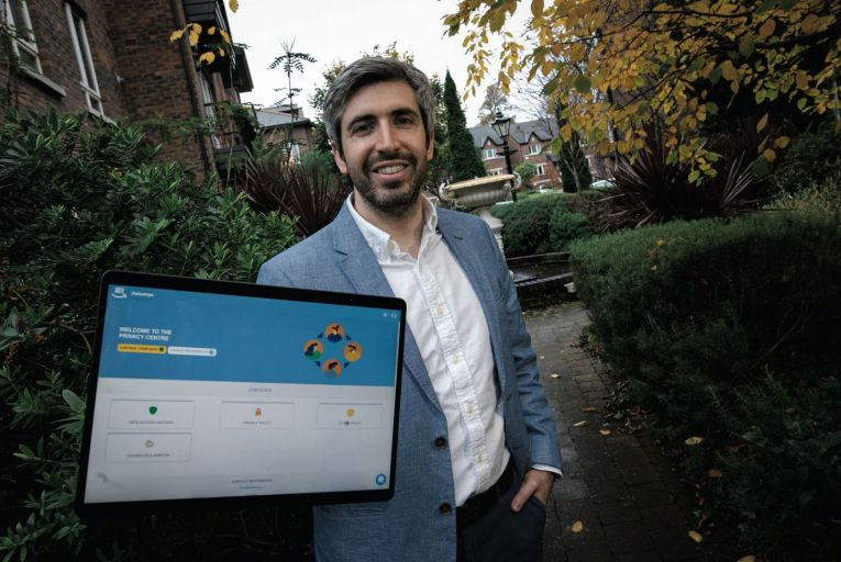 Ryan McErlane, co-founder of Dataships, which has signed 40 new clients in less than six months