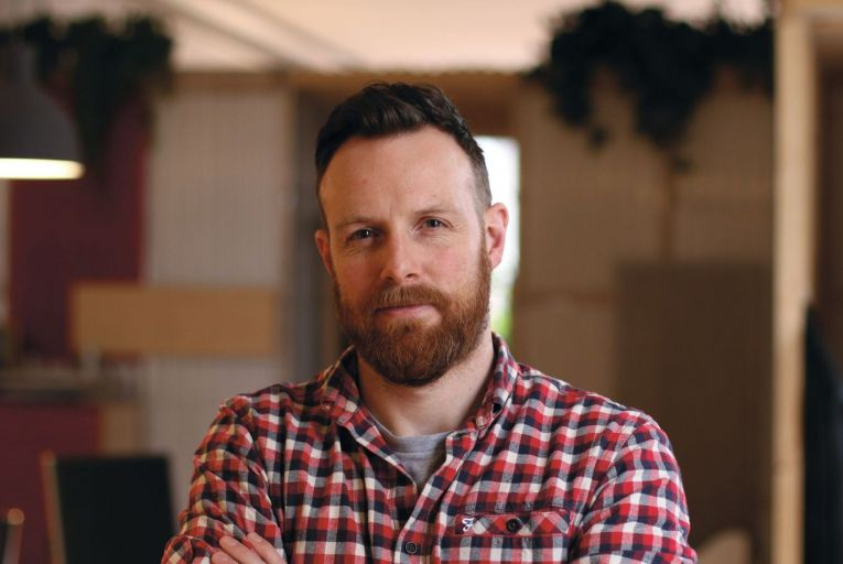 Brian Herron, director of Each&Other which was named European UX Agency of the year for 2020