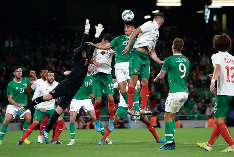 Republic of Ireland play Bulgaria in a friendly at the Aviva Stadium: 'The gambling industry has worked particularly hard to create a strong link in our minds between major sports events and betting', according to senator Mark Wall INPHO/James Crombie