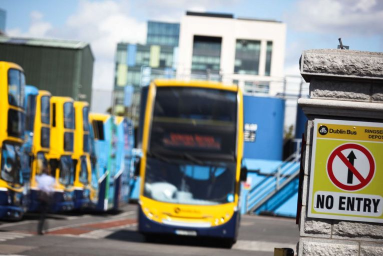 Dublin Bus was subject to deductions of almost €500,000 in 2020 for punctuality issues. Picture: Feargal Ward