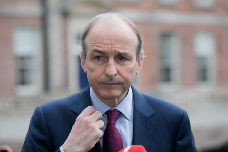 Taoiseach Micheál Martin. Most FF members now expect questions over the party's leadership to be put on hold until the meeting in September. Picture: Collins