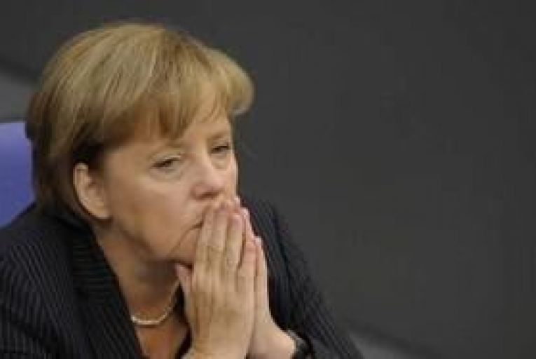 Merkel says euro bonds would damage Europe