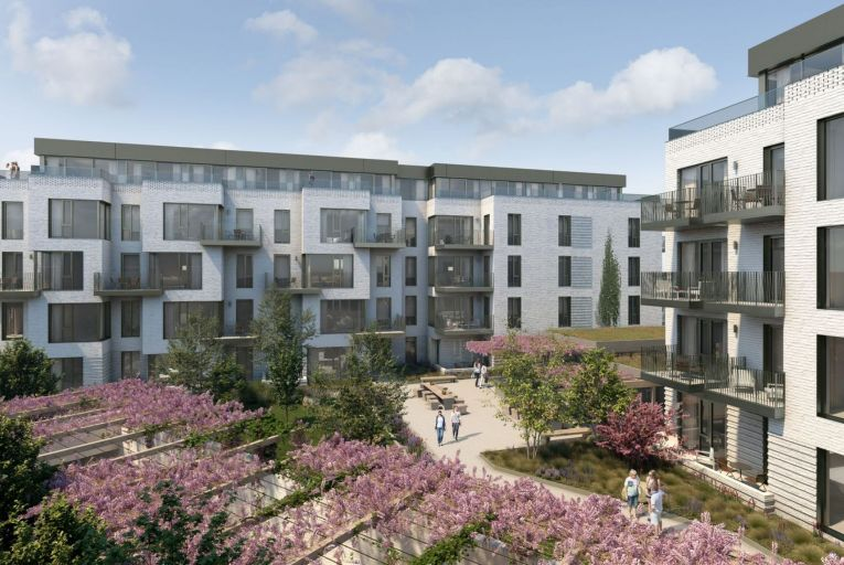 Investor interest and demand for private rented sector properties remained strong last year: 94 apartments by Winterbrook at Harbour Road, Dalkey were forward sold to ILIM for about €54 million