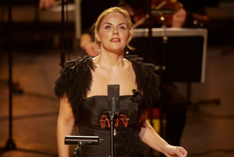 Celine Byrne operating at the height of her powers in Irish National Opera's production of La Bohème. Picture: Ros Kavanagh