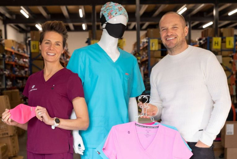 Making it work: Happythreads expanding as demand for scrubs surges